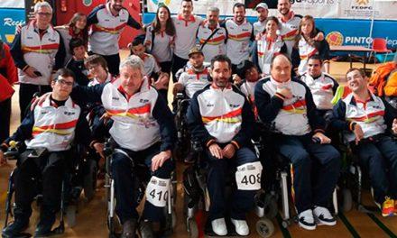 Pinto testigo de las tres medallas españolas en el Europeo de Boccia