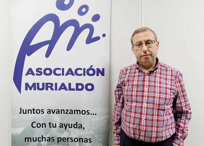 Óscar Olmos, Presidente de la Asociación Murialdo de Getafe