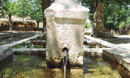 Fuentes y lavaderos tradicionales en Belmonte de Tajo
