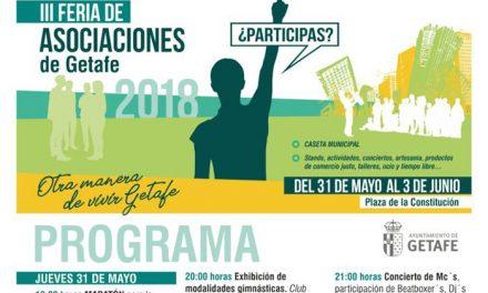 Vuelve la Feria de Asociaciones con actividades, conciertos, artesanía, comercio justo y talleres