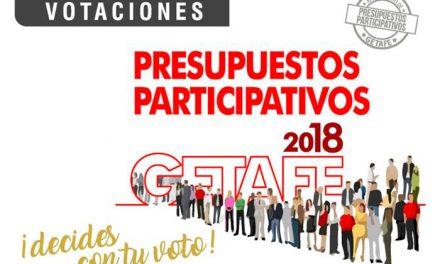 Crecen un 40% las votaciones en los Presupuestos Participativos 2018