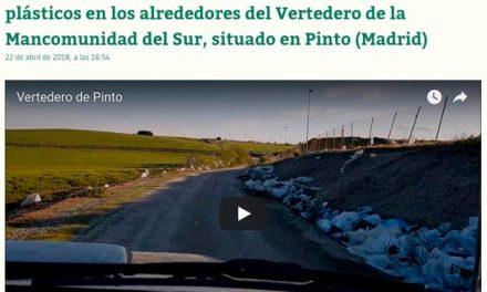 Pinto pide el cierre del vertedero mancomunado