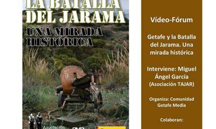 Video-forum sobre Getafe y la Batalla del Jarama el día 11 de mayo