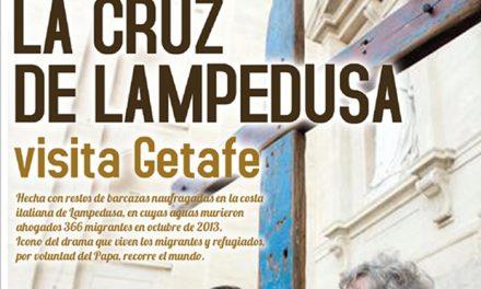La Cruz de Lampedusa estará  en la Catedral de Getafe desde el próximo viernes
