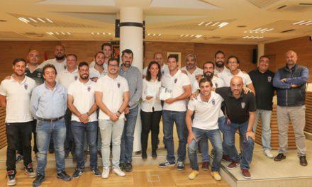 Recepción en el Ayuntamiento al Club de Rugby Getafe por su ascenso a 1ª Regional