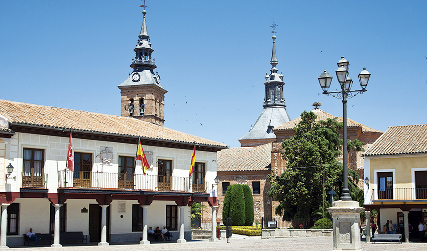 Plaza Mayor de Navalcarnero
