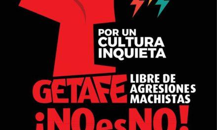 El Ayuntamiento de Getafe y el Festival Cultura Inquieta se unen contra la violencia de género