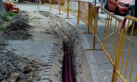 El Ayuntamiento habilita un paso peatonal entre la estación de Getafe Industrial y la avenida de Los Ángeles