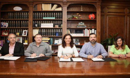 Firmados los proyectos del 'Fondo de Comercio 2018' para apoyar el comercio de proximidad en Getafe