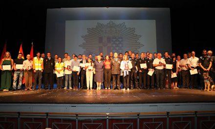 21 policías locales de Getafe han sido galardonados por su trabajo en situaciones especialmente complicadas