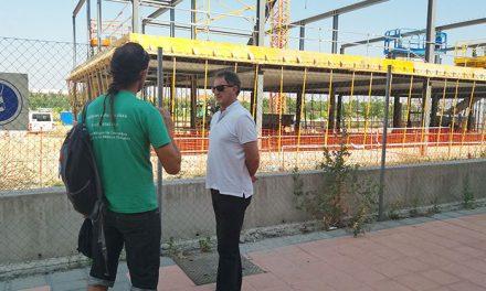 El Gobierno Municipal pone en duda el compromiso de la Comunidad de Madrid con las obras del colegio Miguel de Cervantes