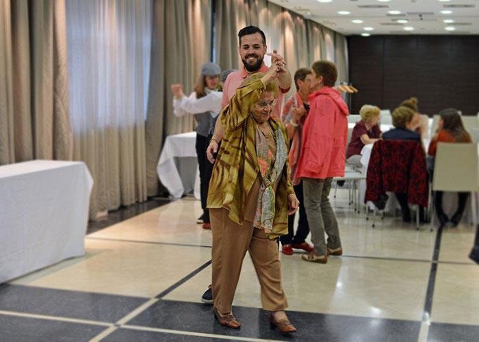 Campaña europea del Sermas y el Hospital de Getafe sobre prevención de la fragilidad en las personas mayores