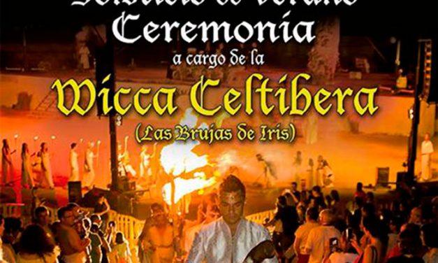 Pinto celebra el solsticio de verano con un ritual del fuego y diversas actividades lúdicas