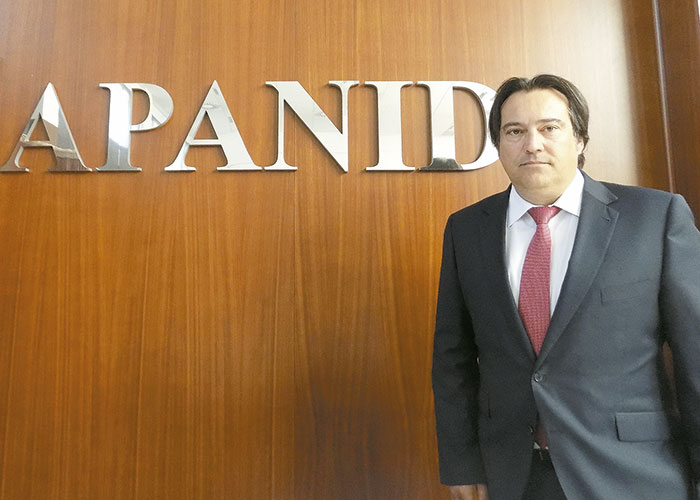Juan Agudo, Director general de APANID de Getafe