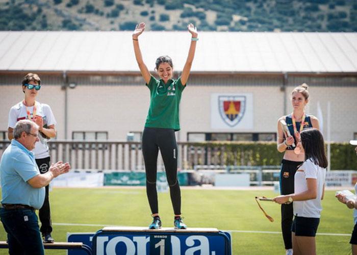 La getafense Lidia Sánchez-Puebla se proclama Campeona de España sub-23 de los 10 km. Marcha