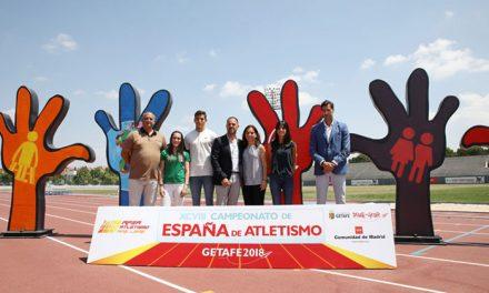 Getafe presenta la XCVIII edición del Campeonato de España Absoluto de Atletismo