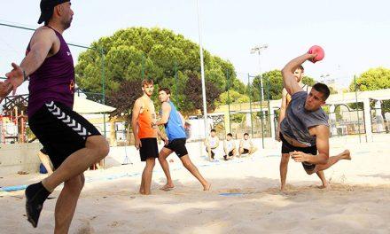 El mejor balonmano playa juvenil inunda Getafe este fin de semana