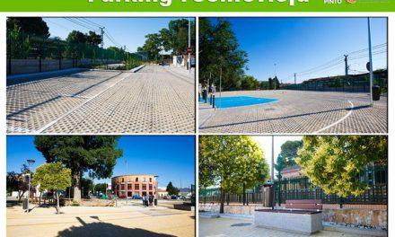 Concluyen las obras de reurbanización de la plaza del Cristo y aparcamiento en la calle Fuentevieja