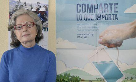 Carmen Castro, Delegada diocesana de Manos Unidas en Getafe