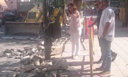 El Ayuntamiento de Getafe ha comenzado las obras para mejorar la accesibilidad de las calles Sánchez Morate y Cataluña