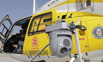 Cámara térmica única en España que facilita la localización de personas afectadas por incendios