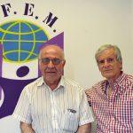Antonio Moreno y Joaquín Pérez, Asociación de Familiares de Personas con Enfermedad Mental