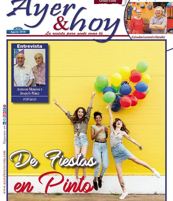 Ayer & hoy – Getafe-Pinto – Revista Agosto 2018