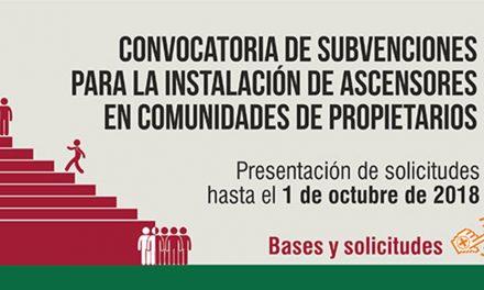 El Ayuntamiento de Getafe abre el plazo de solicitud de subvenciones a la instalación de ascensores