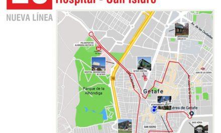 Getafe contará con dos nuevas líneas de autobuses y mejorará otras dos a partir del 20 de octubre