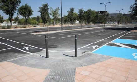 Terminado el aparcamiento con 208 plazas gratuitas en Juan de la Cierva
