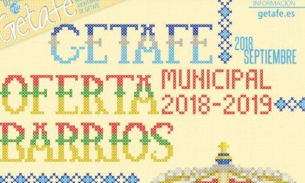 Hoy comienza el plazo de preinscripción para la Oferta de actividades municipales en todos los barrios