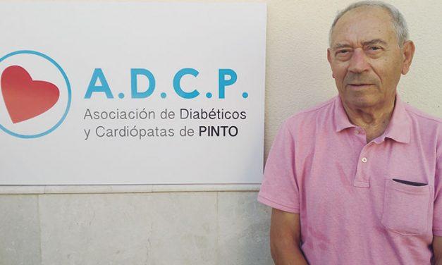 Alfonso Gallego, Presidente de la Asociación de Diabéticos y Cardiópatas de Pinto