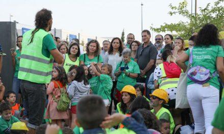 El Gobierno Municipal muestra su indignación tras el abandono de las obras de la empresa del colegio Miguel de Cervantes