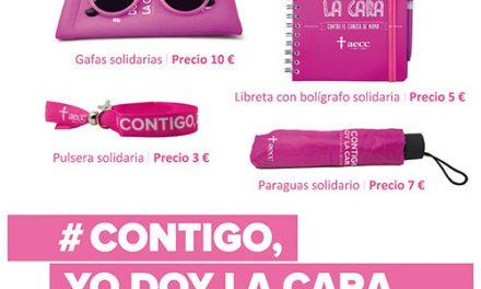 Hoy y el 21 de octubre, los vecinos de Pinto 'dan la cara' contra el cáncer de mama