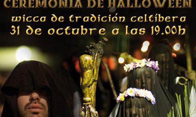 Celebración del Samhain, antecedente de Halloween, en Pinto
