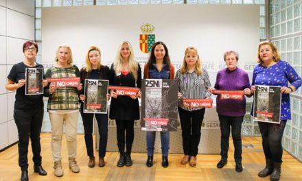 El Ayuntamiento de Getafe presenta su campaña con motivo del 25 de noviembre, Día Internacional por la eliminación de la violencia contra las mujeres