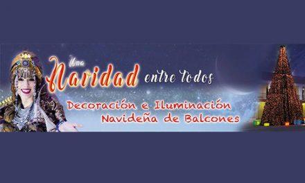 Decoración de balcones y comercios, y concurso de pajes en Una Navidad entre todos