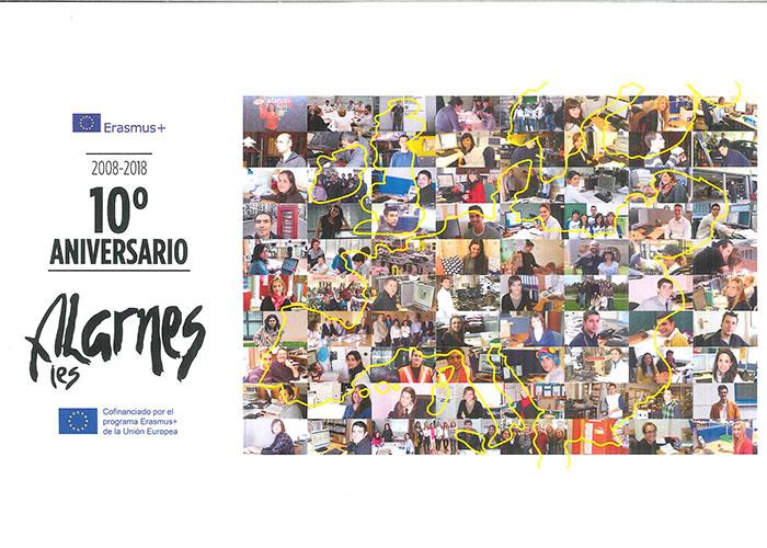 Décimo Aniversario Del Programa Erasmus En El Ies Alarnes