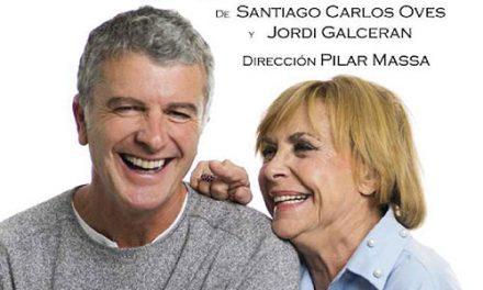 María Luisa Merlo y Jesús Cisneros representarán la obra 'Conversaciones con mamá' en el Teatro Federico García Lorca