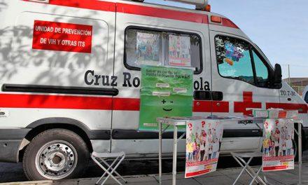 Información y prueba rápida del VIH en Pinto