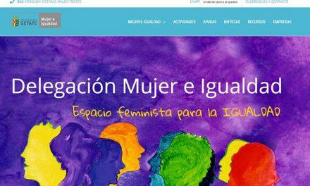 La nueva página web del Centro Municipal de Mujer e Igualdad es mujer-igualdad.getafe.es