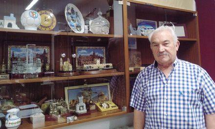 Luis Ortega, presidente de la Agrupación de Jubilados CASA-Airbus Getafe