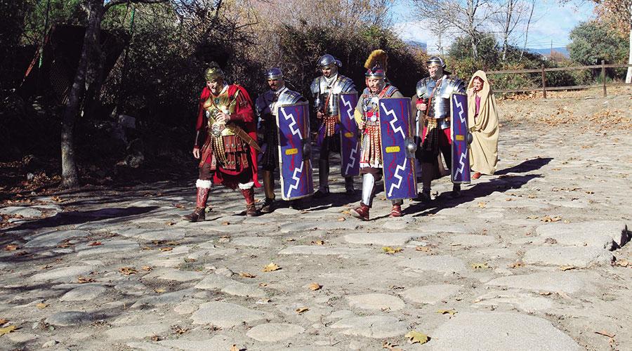 Calzada romana de Galapagar