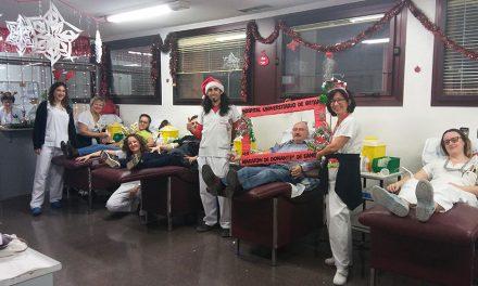 Récord de donaciones de sangre en el XVII Maratón del Hospital Universitario de Getafe
