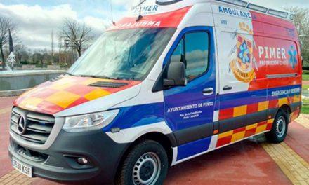 Nueva ambulancia para el servicio PIMER-Protección Civil