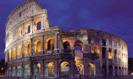 El Coliseo (coloso) de Roma
