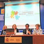 Pinto recoge el premio por su labor contra el acoso escolar