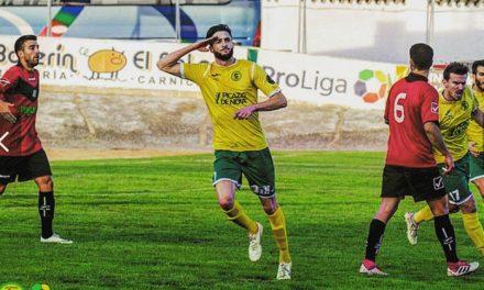 El delantero David Amorín, nuevo fichaje del Atlético de Pinto