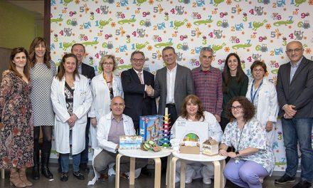 La compañía Airbus colabora con la Navidad del Hospital Universitario de Getafe