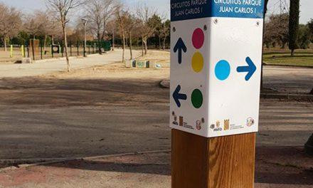 Cuatro nuevos circuitos deportivos en el parque Juan Carlos I